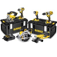DeWalt DCK694P3 18v XR Cordless 6 Piece Power Tool Kit