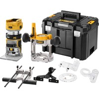 "DeWalt DCW604NT 18v XR Cordless Brushless 1/4"" Router Kit"