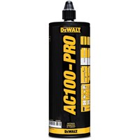DeWalt AC100-PRO Syrene Free Chemical Anchor Cartridge