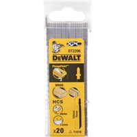 DeWalt XPC T101B Bi Metal Jigsaw Blades for Wood