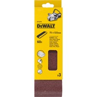 DeWalt 75 x 533mm Multi Purpose Sanding Belts