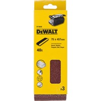 DeWalt 75 X 457mm Multi Purpose Sanding Belts