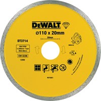 DeWalt Diamond Ceramic Cutting Tile Saw Blades