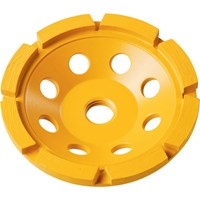DeWalt 125mm Single Row Diamond Cup Grinding Disc