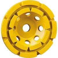DeWalt 125mm Double Row Diamond Cup Grinding Disc
