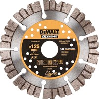 DeWalt Extreme Runtime 125mm Diamond Blade For Wall Chaser