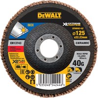 DeWalt Extreme Runtime Flap Disc 125mm