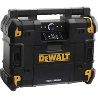DeWalt TSTAK DAB Job Site Radio and Battery Charger