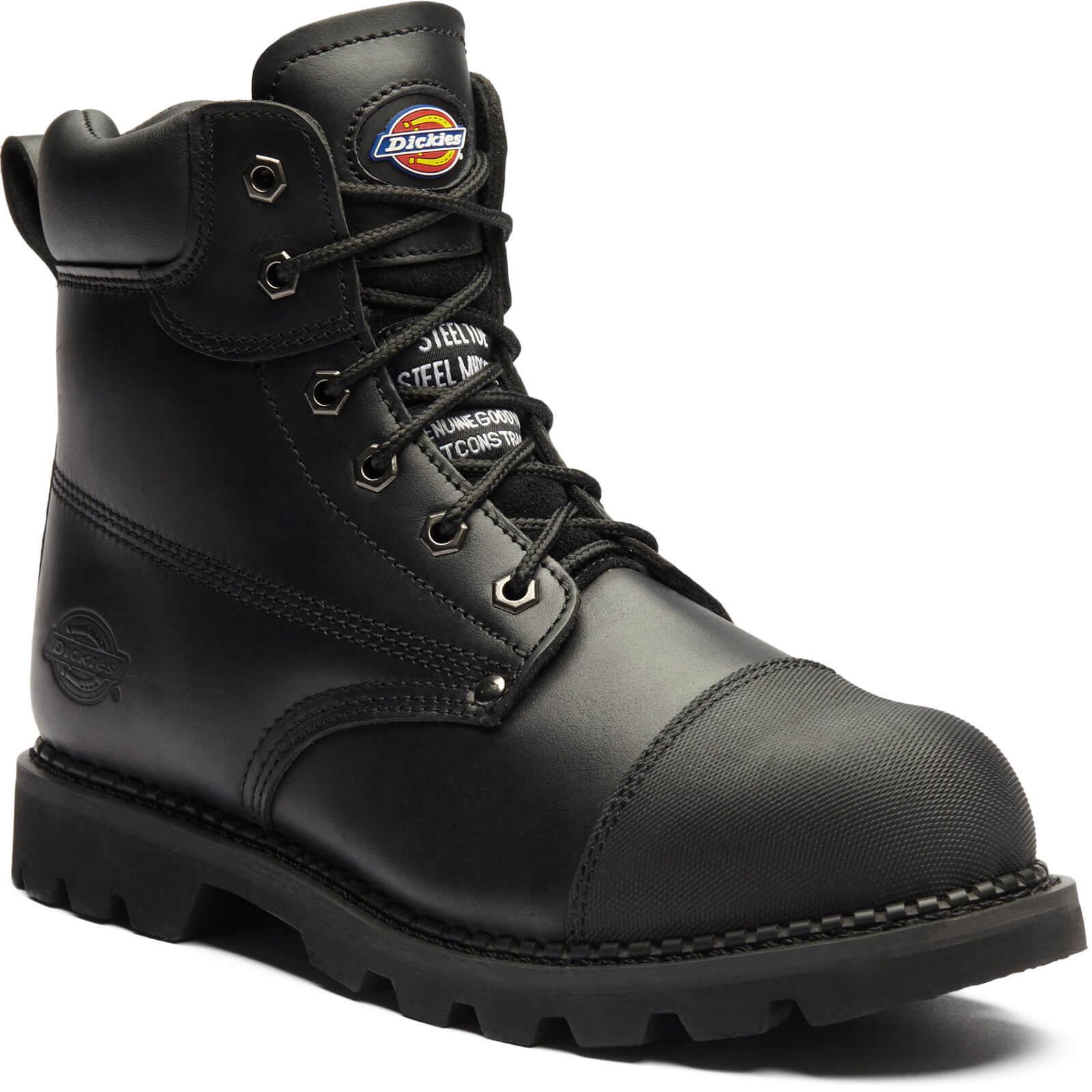 dickies men's steel toe boots