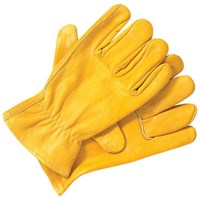 Dickies Mens Unlined Leather Work Gloves