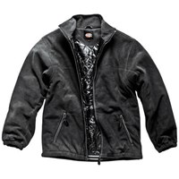 Dickies Mens Padded Fleece Jacket