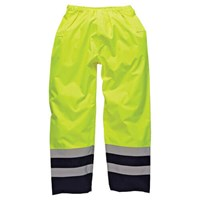 Dickies High Vis Waterproof Safety Trousers