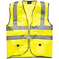 Dickies High Vis Safety Technical Waistcoat