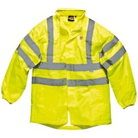 Dickies High Vis Lighweight Waterproof Jacket