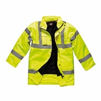 Dickies Mens Hi Vis Motorway Safety Jacket