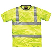 Dickies Mens High Vis Safety T Shirt