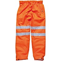 Dickies Mens High Vis GO/RT Over Trousers