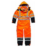 Dickies High Vis Waterproof Safety Overalls