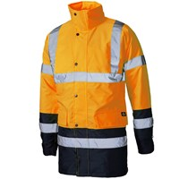 Dickies Mens High Vis Parka Safety Jacket
