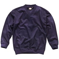 Dickies Mens V Neck Sweatshirt