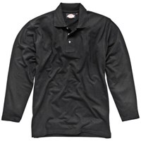 Dickies Mens Long Sleeve Polo Shirt