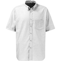 Dickies Mens Oxford Weave Short Sleeve Shirt