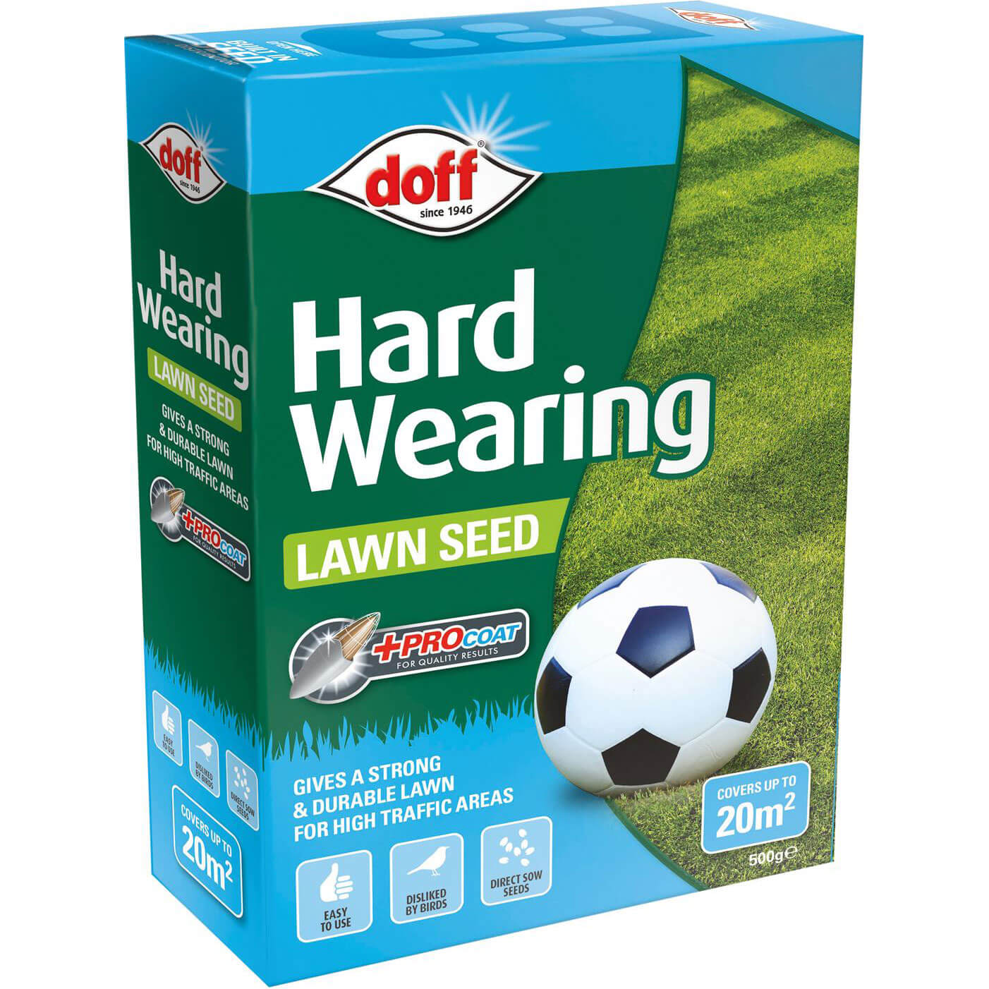 Doff Hard Wearing Lawn Seed
