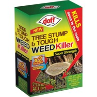 Doff Tree Stump and Tough Weed Killer Sachets