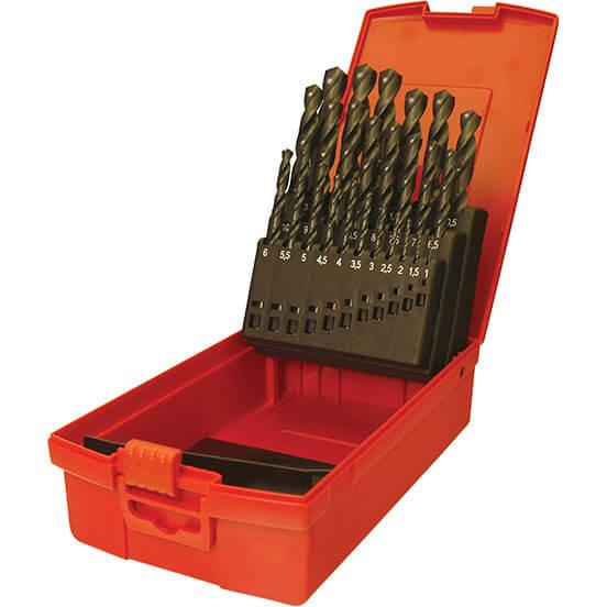 Image of Dormer A190-201 19 Piece HSS Jobber Drill Bit Set