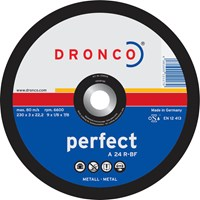 Dronco A 24 R PERFECT Flat Metal Cutting Disc