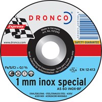 Dronco AS 60 T INOX Thin Stainless Steel Cutting Disc