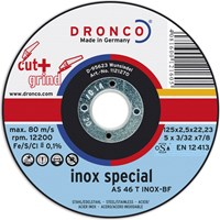 Dronco AS 46 T INOX Thin Stainless Steel Cutting Disc