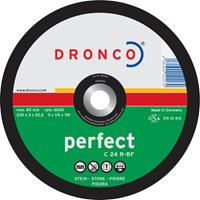 Dronco C 24 R PERFECT Flat Stone Cutting Disc