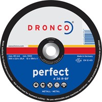 Dronco A 36 R PERFECT Flat Metal Cutting Disc