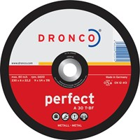 Dronco A 30 T PERFECT Depressed Metal Grinding Disc