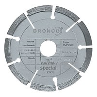 Dronco LTF 76 SPECIAL Diamond Mortar Raking Disc