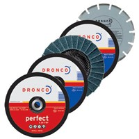 Dronco Assorted Cutting Disc Multipack