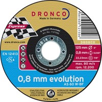 Dronco AS 60 W EVOLUTION Inox Thin Stainless Steel Cutting Disc