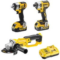 Dewalt 18v XR Cordless 3 Piece Power Tool Kit