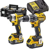 DeWalt DCK266P2T 18v XR Cordless Brushless Combi Drill and Impact Driver TSTAK Kit