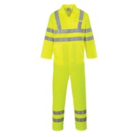 Portwest Class 3 Hi Vis Poly Cotton Overall