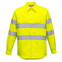 Portwest Mens Chest Pocket Hi Vis Work Shirt