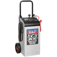 Sealey ECS300 Fully Electronic Vehicle Battery Starter & Charger