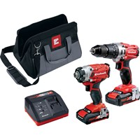 Einhell Power X Change 18v Cordless Combi Drill & Drill Driver Kit