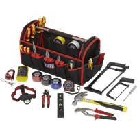 Sealey 24 Piece Electricians Tool Kit in Tool Bag