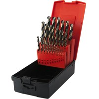 Osborn Two Tone 25 Piece HSS 1.0 - 13mm By 0.1mm Drill Set