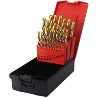 Osborn Goldex 19 Piece HSS-E 1 - 10mm By 0.5mm Drill Set