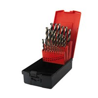 Osborn 19 Piece HSS 1.0 - 10mm By 0.5mm Drill Set