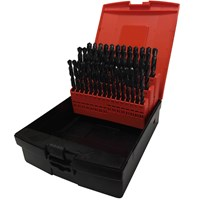 Osborn 41 Piece HSS 6.0 - 10mm By 0.1mm Drill Set