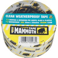 Everbuild Mammoth Weatherproof Clear Tape